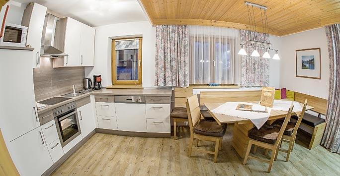 Ferienwohnung 03 Wohnküche